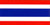 Flag for Thailand