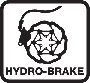Hydro Brake - Compatible with hydraulic braking systems.