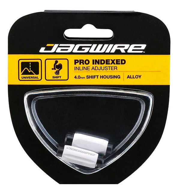 Jagwire Mini Black Inline Adjusters for Shifter Cables 1 Pair New