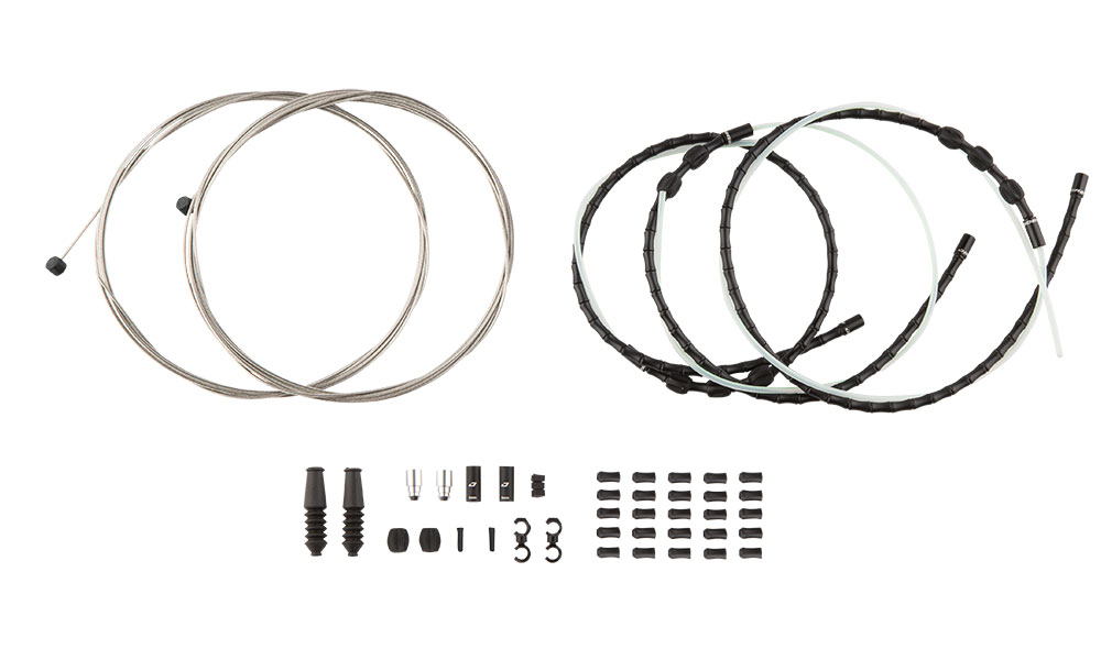 What's included in the packaging for Mountain Elite Link Brake Kit