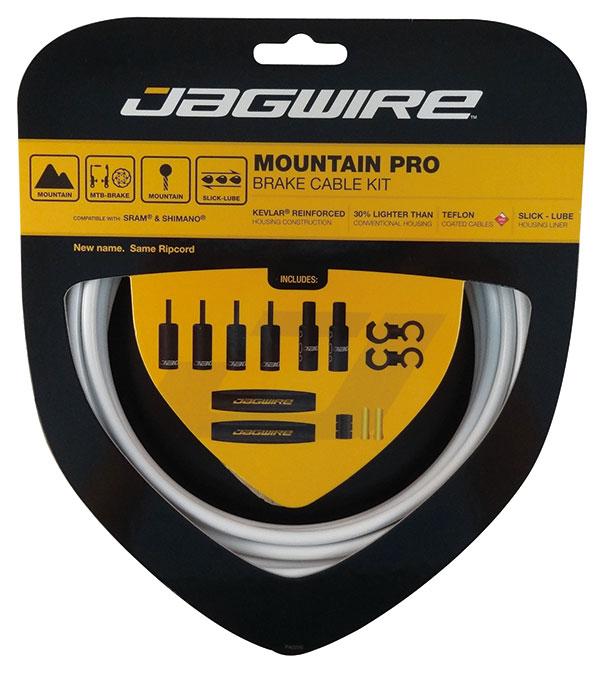 New Jagwire Pro Brake Cable Kit Mountain SRAM//Shimano Red