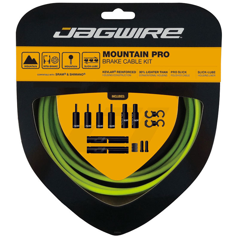 Packaging for Mountain Pro Slick Polished Brake Inner Cable