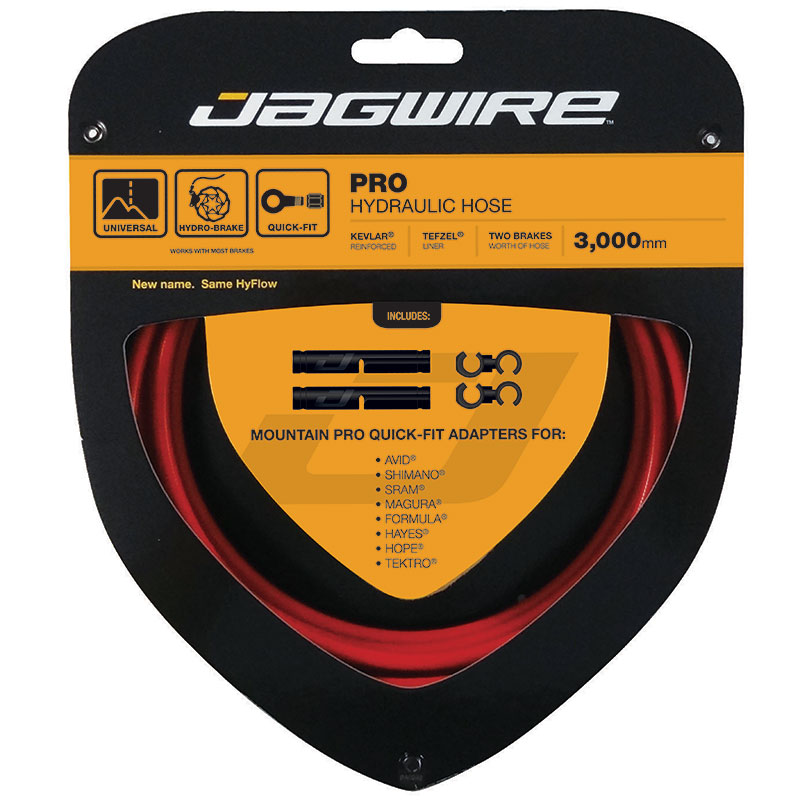 Jagwire Pro Disc Brake Hydraulic Hose Quick-Fit Adapters for SRAM//Avid