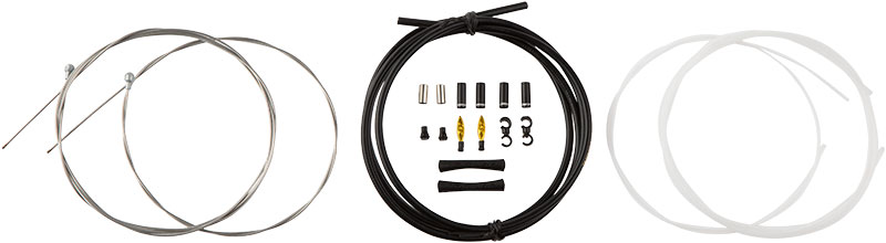 What's included in the packaging for Road Elite Sealed Brake Kit